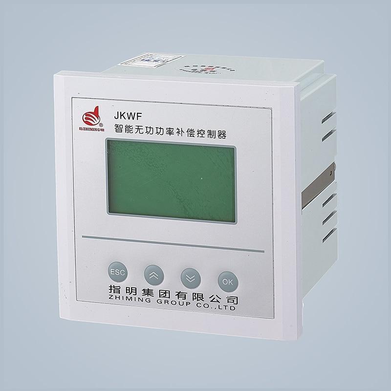 JKWF Intelligent reactive power LCD compensation controller Reactive Power Controllers reactive power automatic compensation controller jkwf 16 16steps 220v reactive power compensation controller