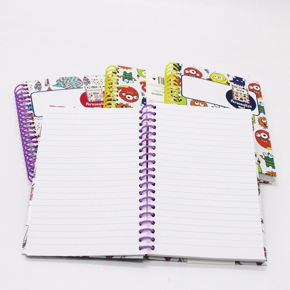 1 ks Poznámkový blok roztomilý čtyři různé vzory kawaii mini - Bloky a záznamní knihy - Fotografie 2