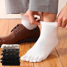 Men's Cotton Leisure Barrel Wuzhi Socks Socks Toe Points SL