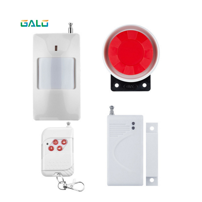 Sensor Alarm Systems Home Security Mini Wireless Infrared Sensor Motion Detector Alarm System Anti-theft intelligent wireless infrared sensor telephone alarm anti theft alarm shop home security alarm system