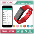 SMS and Caller ID Display Activity Tracker Pulse Band Smart Bracelet Heart Rate Wristband Free Shipping