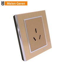 цена на 86 Type Air Conditioning Wall Socket Panel Embeded Mounted 3 Pins Power Outlet Electric Electrical Plugs Sockets 16A AC 250V new