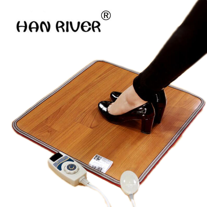 50*30 CM Foot switch Waterproof Electric Heating Mat Heating Pad Warm Blanket office winter warm thermostat Warmer feet hot sale tf01 7 free shipping carbon crystal to warm foot feet warmer office warm floor winter foot warmers carbon crystal to warm feet