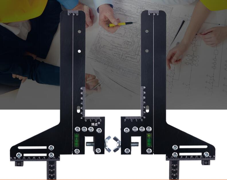 The Guide Ruler Guide Rail Positioning Ruler Of The Elevator School Track Ruler Is Found To Track The Ruler Single Line Aluminum