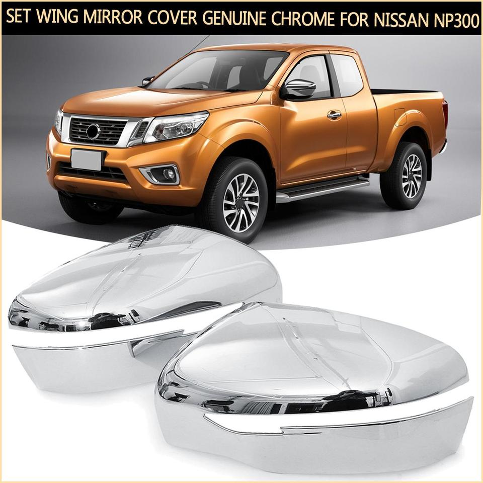 Color : Black Left side Car Wing Mirror Cover Fit For Nissan Navara D40 2005-2014 Mirror