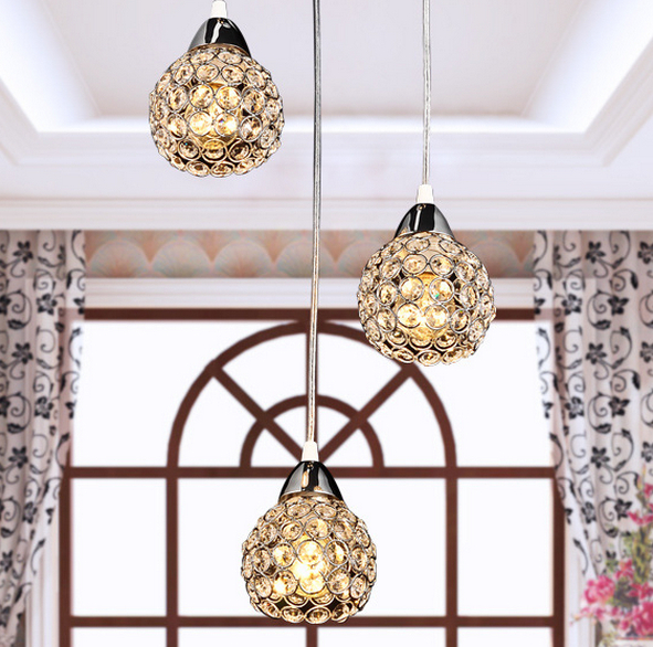 Small Chandelier Lamp: NEW Small chandelier Light E Modern Sconce K9 crystal lamp Stairs Aisle  foyer lamps shade for,Lighting