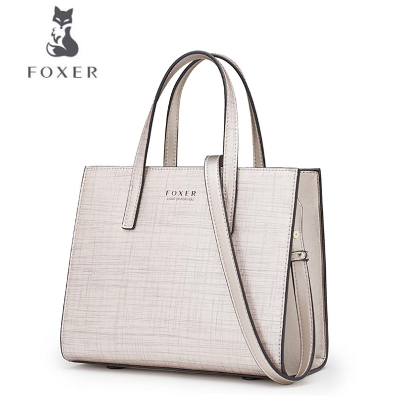 FOXER  Women bag  Fashion party bag New 2018 Fashion Shoulder Messenger Bag handbag