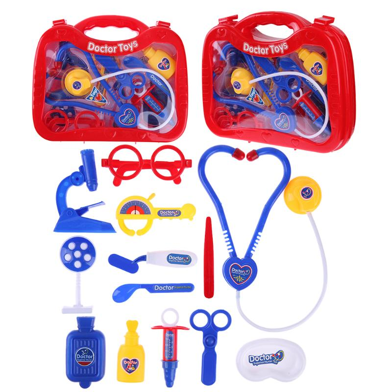 Simulation Doctor Medicine Box Toys Set Childrens Pretend Play Educational Role Play Medical Kit Kids Gifts Toys for Children