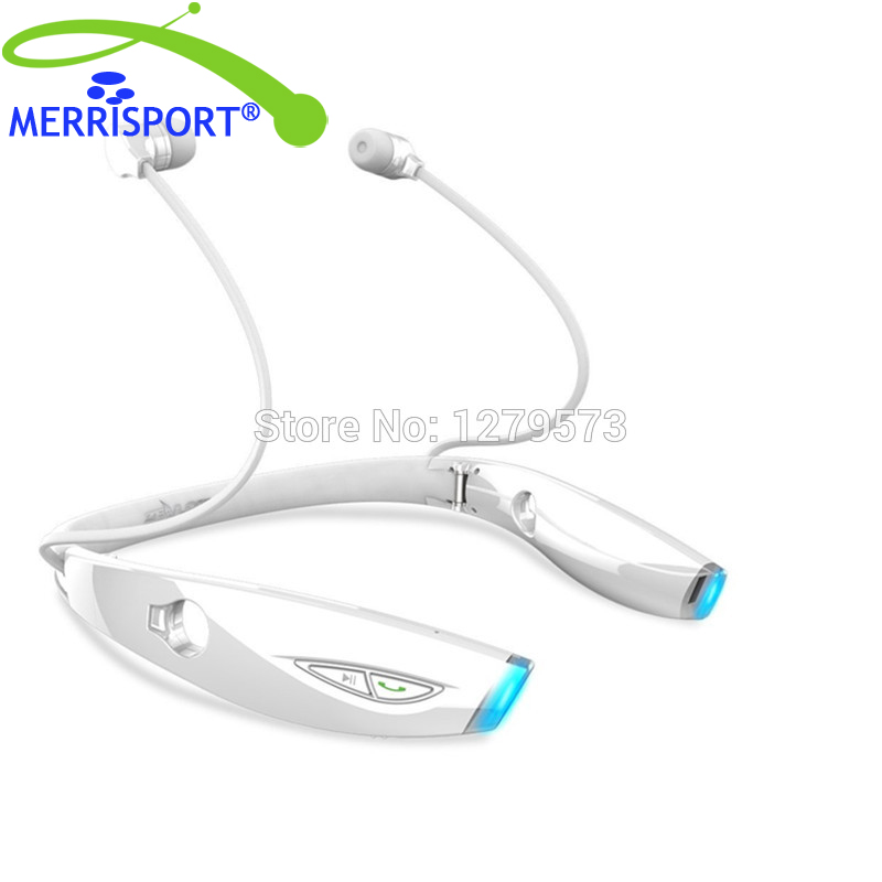 Bluetooth Headphones Wireless Bluetooth Headset Lightweight Stereo Noise Cancelling In-Ear Bluetooth Earphones With Mic White