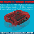 2016  Volcano Box For  CPU, Cpu, Unlock Flash & Repair With 28 pcs adapter 2 cables 1 year Warranty+PACK1