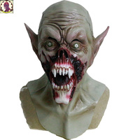 2018 Best Selling Horrifying Realistic Dress Zombie Latex Mask Halloween Cosplay Party Mask