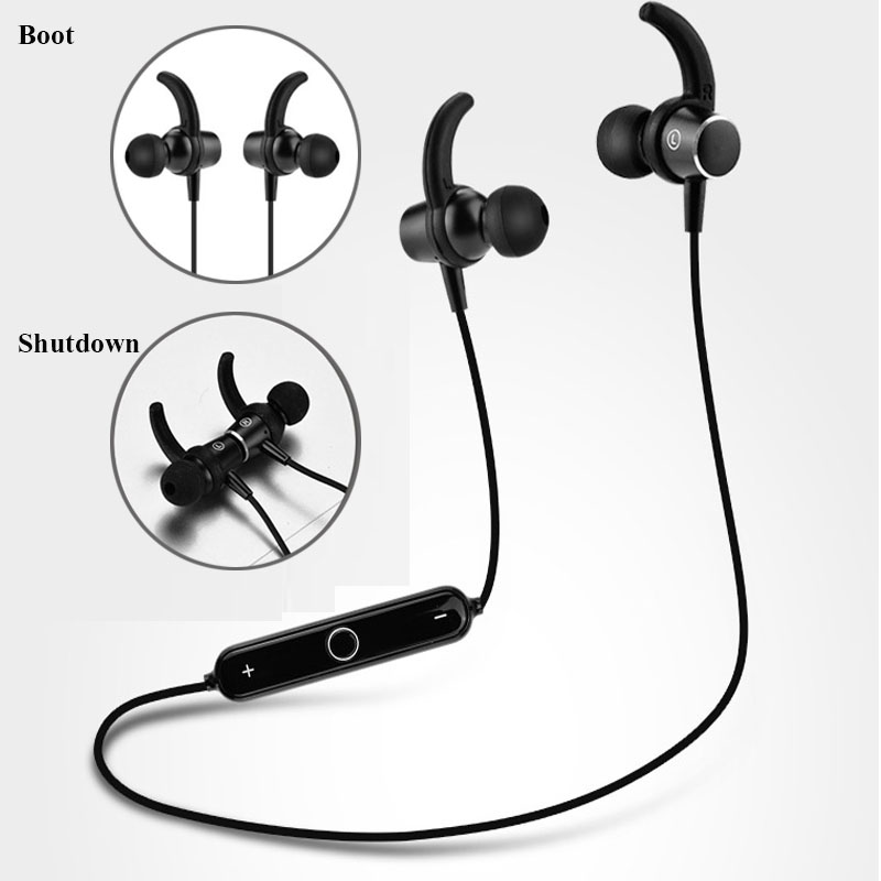 Wireless Earphone Headphone Sports Running Bluetooth Headset Bluetooth Earpiece With Mic Stereo Earbuds For iphone xiaomi phone