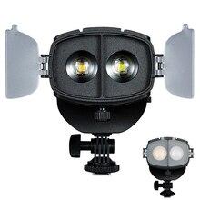 NanGuang CN 20FC LED צילום אור זרקור פוקוס LED וידאו אור עבור Canon ניקון DSLR/Sony ראי סדרה/מצלמת וידאו