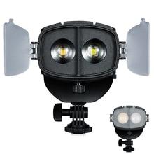 NanGuang CN 20FC LED projecteur de lumière de photographie Focus LED lumière vidéo pour Canon Nikon DSLR/Sony série sans miroir/caméscope