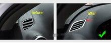 For audi A3 2014 Front Air Outlet Vent Cover Trim 2pcs / set