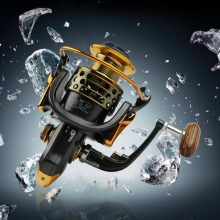 All Metal RockerArm Fishing Vessel 14 Shaft Gapless Metal Head Fishing Reel Wheel Wheel Aluminum Alloy Drop Cast Fishing Tools