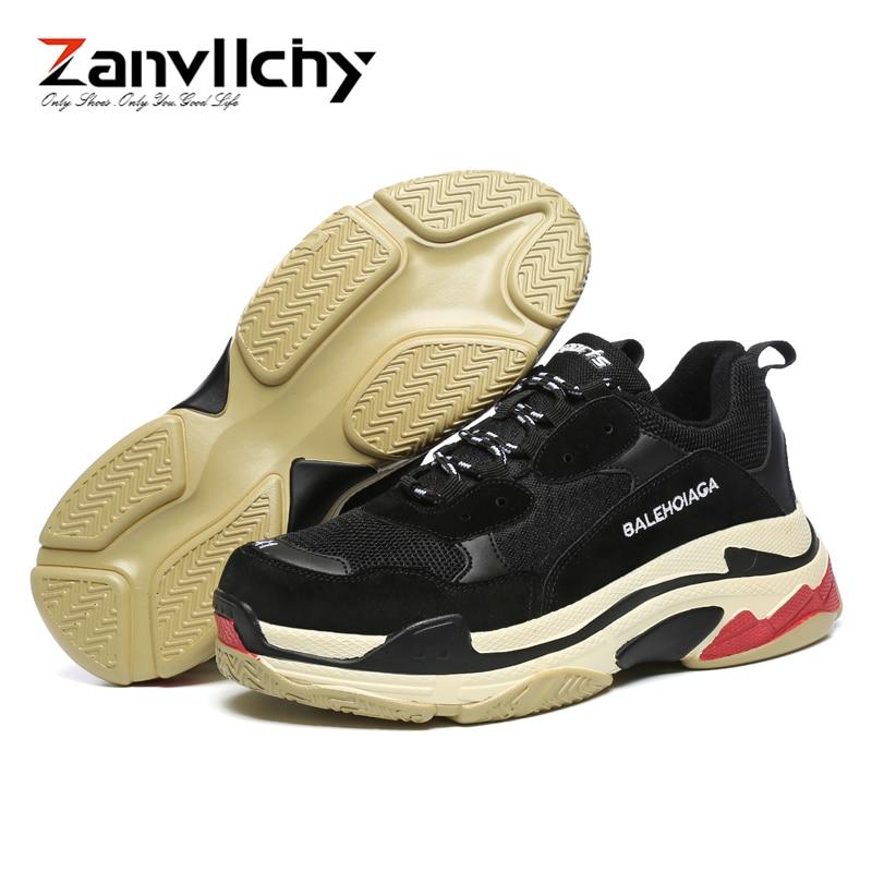Chunky c Zapatillas Chaussures Sneakers d 2019 Papa Homme Chassures A b Hombre Zanvllchy Nouveau Casual Balencia Triple S Blanc Hommes Balanciaga qfwEH