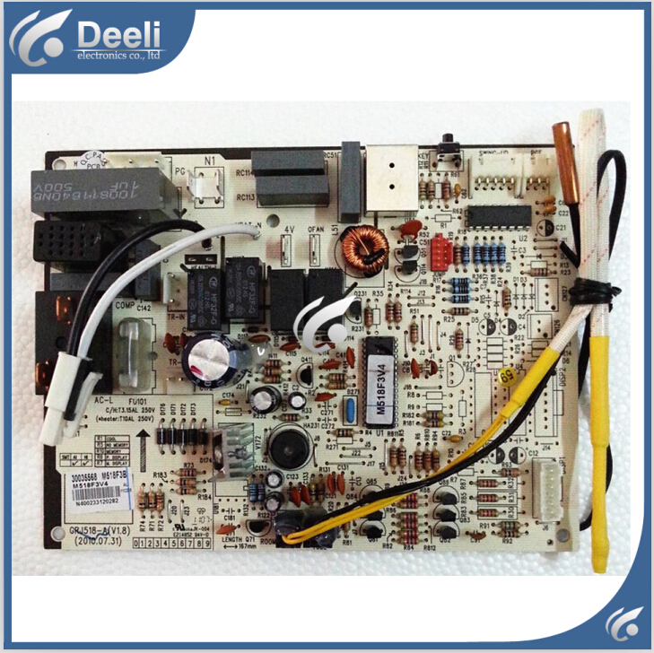 ФОТО 95% new good working for air conditioner pc board circuit board 30035568 motherboard m518f3b grj518-a on sale
