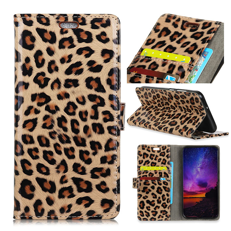 Wallet Case for Vodafone Smart N9 N 9 5.5 Phone case Sexy Leopard Print Leather Flip Stand PU Soft Back Cover Panther
