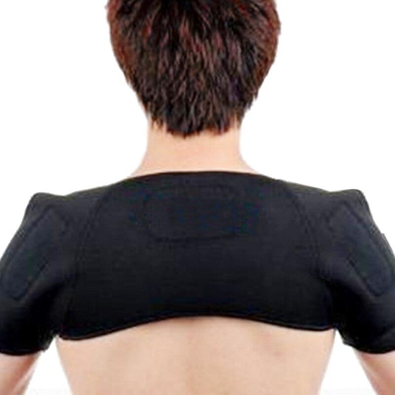 1Pcs Tourmaline self-heating Shoulder pads Support Massager Magnetic cervical frozen shoulder pad massage Health Care