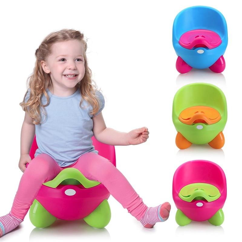 Plastic Baby Potty Training Toilet Non-slip Kids Toilet Seat Portable Travel Potty Chair Infant Children Pee Trainer Free Ship