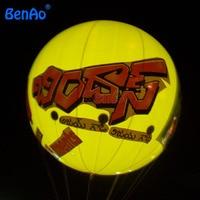 AO089 Darmowa wysyłka + logo 0.18mm PVC nadmuchiwane helem balonu/niestandardowe reklamy nadmuchiwane oświetlony balon, doprowadziło Balonu wypełnionego helem