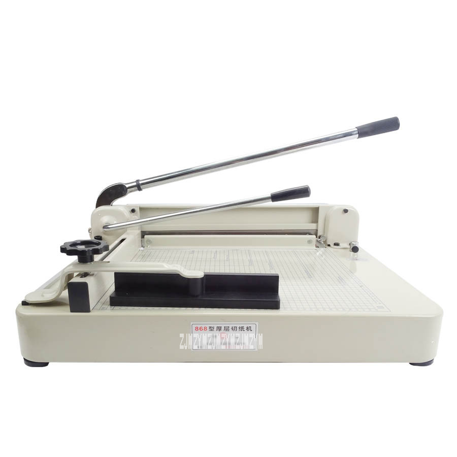 1PC High Quality Heavy Duty 17 A3 Size Stack Paper Trimmer Cutter Ream Cutting Machine YG 868 A3 Max cutting thickness 40mm цена