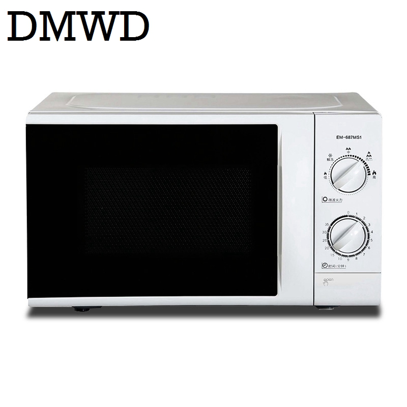 DMWD 700W Household Microwave Oven Mini multifunctional Mechanical Timer Control Microwave Oven 20L with 30 minutes timer EU US the chinese new year hot sell 110v microwave oven 20l professional commercial and household microwave oven wbl 02