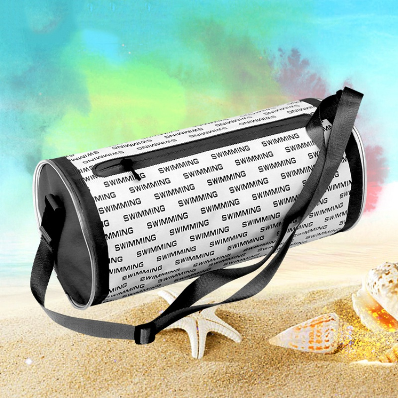 Waterproof Cylinder Hand Bag Lightweight Travel Bag Sports Foldable Swimming Bag
