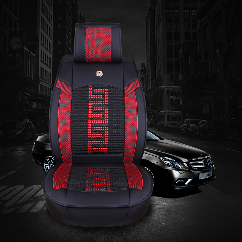 Luxury leather seat covers universal car seat cover fit - Most popular car interior colors ...
