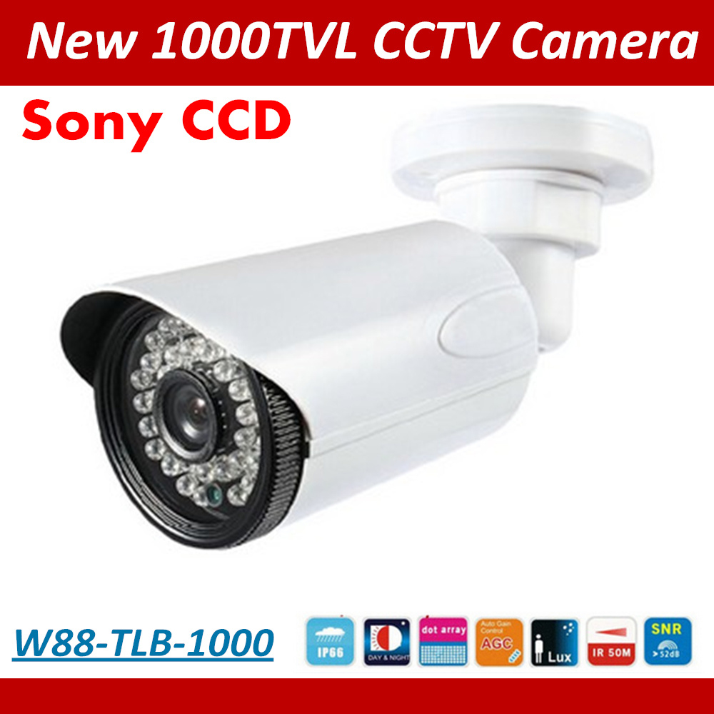 2017 NEW 1/3 SONY CCD HD 1000TVL Waterproof Outdoor Security Camera IR 50 meter CCTV Camera Free Shipping masons jeans повседневные брюки