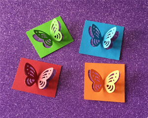 Image 4 - Free Shipping Large Size 4.5cm Stereoscopic 3D Butterfly Shape Punch Craft Scrapbook Paper Puncher Child DIY Tools Hole Punches