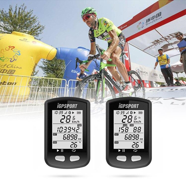 IGPSPORT iGS10 GPS-Enabled Della bicicletta della Bici del computer tachimetro Garmin 200 520 Bryton 310 330 iGS50E