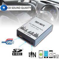DOXINGYE For BMW E39 X3 X5 Z4 Z8 MINI R5x USB SD AUX Digital Car MP3 Player Music Adapte CD machine changer 12PIN Interface