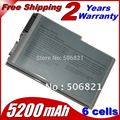 4400 мАч 6 клетки аккумулятор для ноутбука Dell Latitude D500 D505 D510 D520 D530 D600 D610 для 510m 600m Precision M20