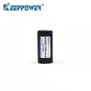 Image 2 - 1 stuks KeepPower 1200mAh 18350 P1835C2 beschermd li ion oplaadbare batterij drop shipping originele batteria
