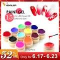 Venalisa pintura gel Venta caliente arte de uñas uv led 180 colores 5 ml pintura de uñas profesional color gel polaco uv geles de laca de gel de color