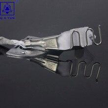Q. X. YUN оверлок папка клейкая лента Размер 16 мм A10 Хеммер прямой угол Скоба Биндер для швейной машины обвязки кривой кромки