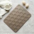 28 отверстий пластины формы антипригарные формы для макарон Макарон лоток для выпечки Дженни печенья Форма пекарня для выпечки инструмент