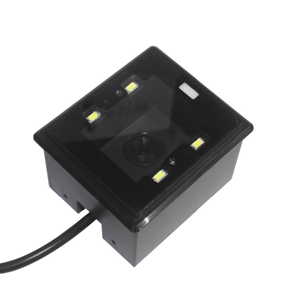 Módulo de escáner de código de barras integrado Mini OEM USB Rs232 1d 2d para kiosco HS-2003 Placa de control de acceso EMID 125KHZ RFID integrado Tablero de control DC12V Tablero de control normalmente cerrado