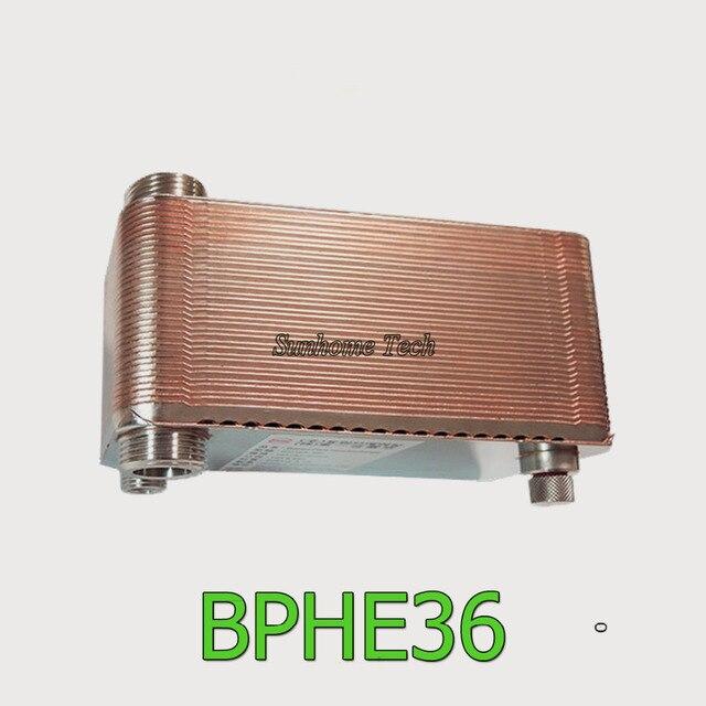 36 platten hohe effizienz Gelötete Plattenwärmetauscher SUS304 ...