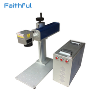 High speed Agent price fiber laser marking machine for metal
