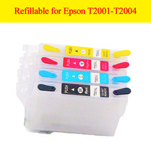 Refillable ink cartridge T2001xl-T2004xl for Epson Expression Home xp -100 XP-200/XP-300/XP-400,WorkForce WF-2520/2530/2540