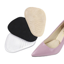 Gel Forefoot Pads Insoles For Shoes Inserts Cushion Anti-slip Foot Pad Women High Heel Shoe Insole Padding