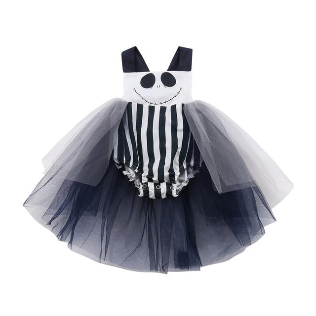 865704fdf0ee Infant Toddler Baby Girls Tulle Romper Skirt Halloween Mesh Backless ...