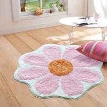Floral shape multi-color Bathroom Carpets Soft absorbent doormat kitchen anti-slip for entrance door floor mats