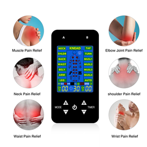 Image 3 - FDA TENS Unit Electronic Pulse Massage 15 Models 2 Channels LCD EMS Massager Back Neck Stress Sciatic Pain and Muscle Relief