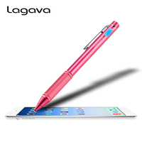 Metal Universal Active Stylus lápiz Tablet capacitiva pantalla táctil pluma Durable punta para iPad Xiaomi teléfono PC