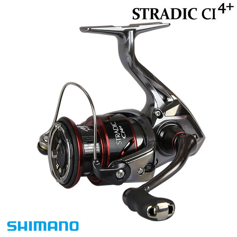 100%NEW SHIMANO STRADIC CI4+ 1000HG 2500HG C3000HG 4000XG High Gear ratio 6.0:1/6.2:1 HAGANE GEAR X-SHIP MGL ROTOR SPINNING REEL