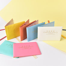 1PC Candy Color PU Leather Purse Wallet Case Auto Driver License Bag on Cover for Car Driving Documents Card Holder(China)
